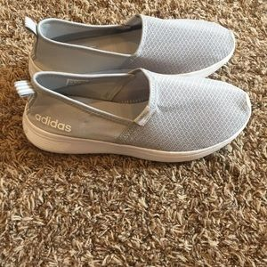 Adidas slip on memory foam shoes